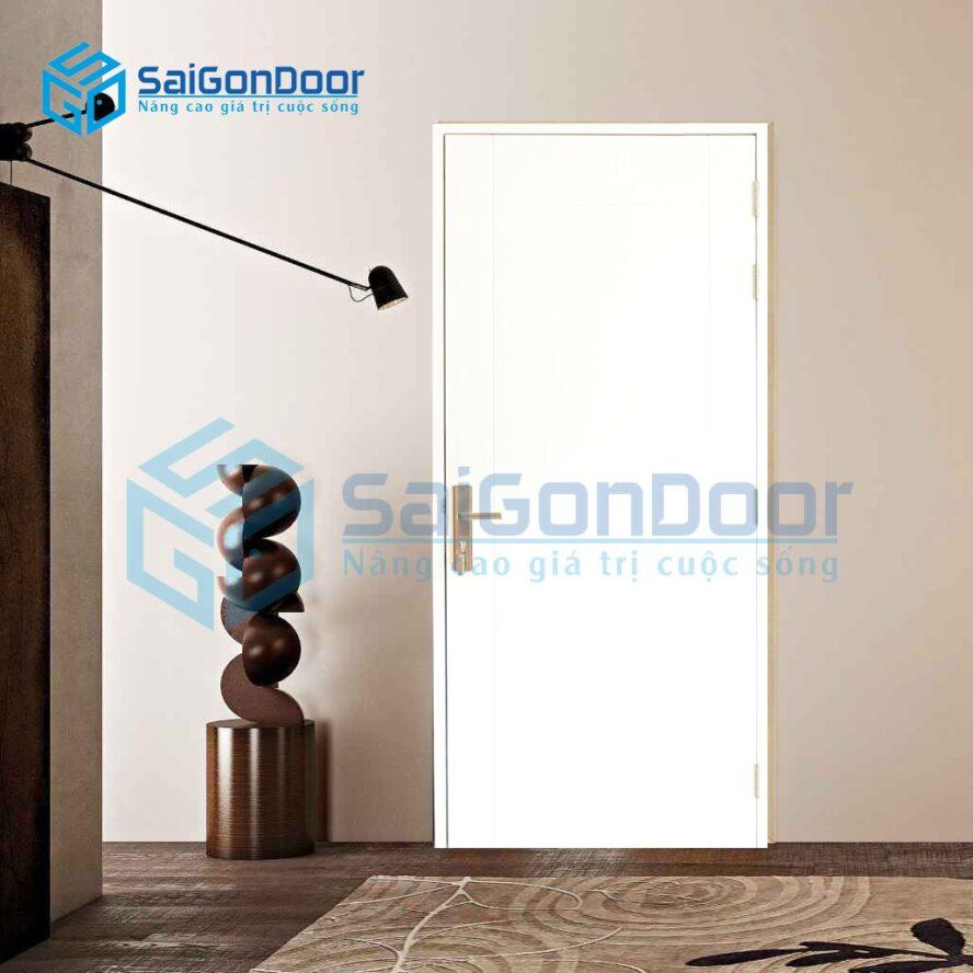 Cửa nhựa phòng ngủ cao cấp cách âm SYA.P1-A01