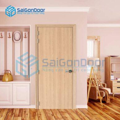 Cửa nhựa phòng ngủ sang trọng SYB.100-B06